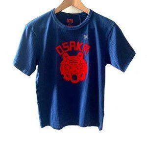 NWT Uniqulo Osaka Tiger Short Slv T-Shirt Sz Small